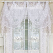 Berkshire Rod-Pocket Sheer Flutter Valance