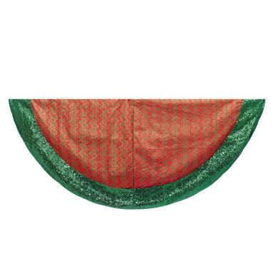 "jcpenney.com | Kurt Adler 48"" Red and Green Treeskirt"