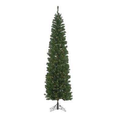 jcpenney.com | Kurt Adler 7 Ft. Pre-Lit Winchester Pine Pencil Tree
