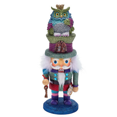 "jcpenney.com | Kurt Adler 14"" Hollywood Colorful Owl Hat"