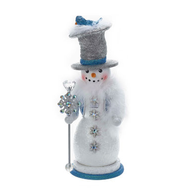 "jcpenney.com | Kurt Adler 16"" Hollywood Snowman Nutcracker"