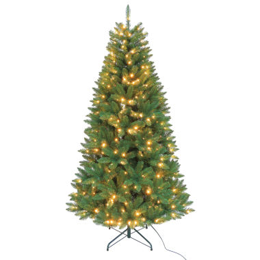 jcpenney.com | Kurt Adler 7 Ft. LED Pre-Lit Pine Tree