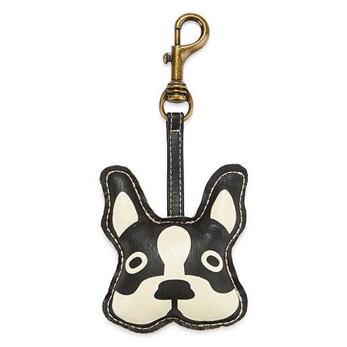 Puff Dog Key Chain