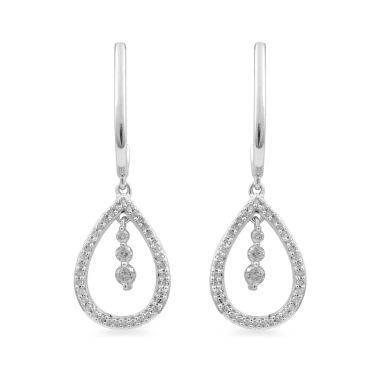 jcpenney.com | Diamond 10K Gold Drop Earrings