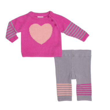 jcpenney.com | Cuddl Duds Girls 2-pc. Pant Set-Baby