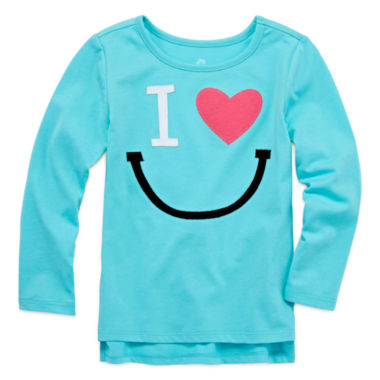 jcpenney.com | Okie Dokie Graphic T-Shirt-Toddler Girls