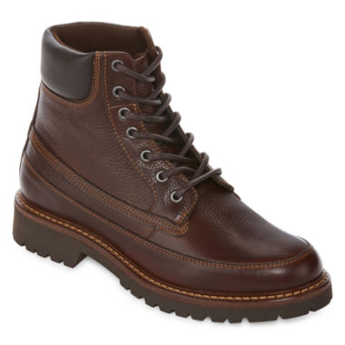 jcpenney.com | St. John`s Bay Mens Scenic Leather Lace Up Boots