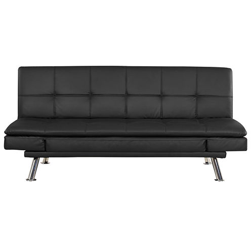 Serta Niles Faux-Leather Sleeper Sofa
