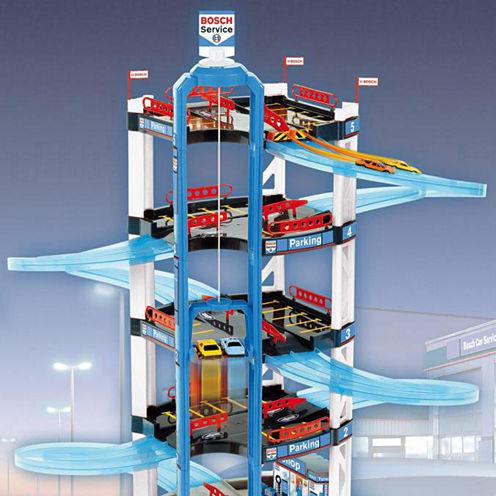 Bosch 5 Level Car Park Toy