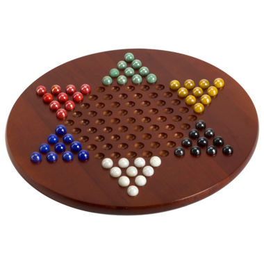 jcpenney.com | Jumbo Chinese Checkers with Marbles
