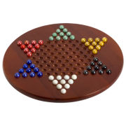 Jumbo Chinese Checkers with Marbles