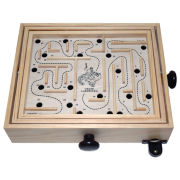 "12"" Wooden Labyrinth of Crete"