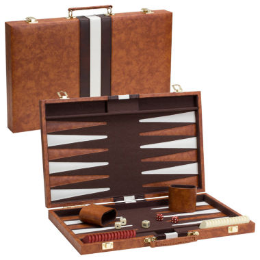 jcpenney.com | Brown/White Backgammon Game