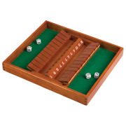 Shut the Box Game - Double-Sided 12