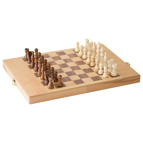 Chess Set and Shut The Box Combo Game