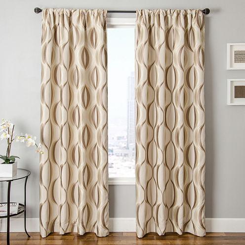 Dover Rod-Pocket Curtain Panel
