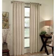 Ellie Thermal Rod-Pocket Curtain Panel
