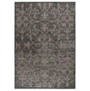 Nourison® Lady Katherine High-Low Carved Rectangular Rugs