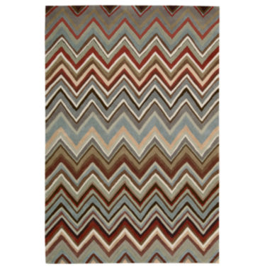 jcpenney.com | Nourison® Chevron High-Low Carved Rectangular Rug