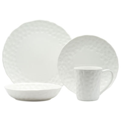 Red Vanilla Marble 16-pc. Round Dinnerware Set  sc 1 st  JCPenney & Red Vanilla Marble 16 pc Round Dinnerware Set