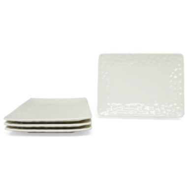 jcpenney.com | Vanilla Marble Set of 4 Salad Plates