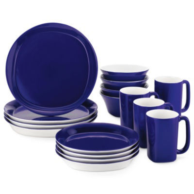 Rachael Ray® Round \u0026 Square 16-pc. Dinnerware Set  sc 1 st  JCPenney & Rachael Ray Round \u0026 Square 16 pc Dinnerware Set