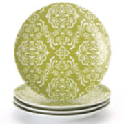 Rachael Ray® Curly-Q Set of 4 Salad Plates