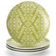 Rachael Ray® Curly-Q Set of 4 Salad Plates