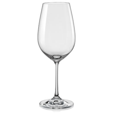 jcpenney.com | Red Vanilla Viola Set of 6 Wine Glasses