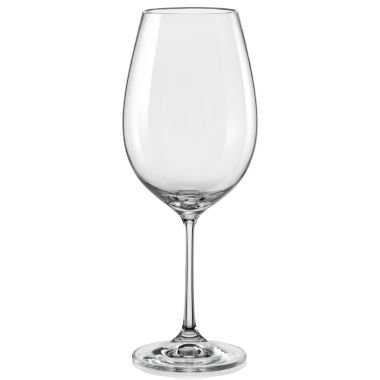 jcpenney.com | Red Vanilla Viola Set of 6 Red Wine Glasses