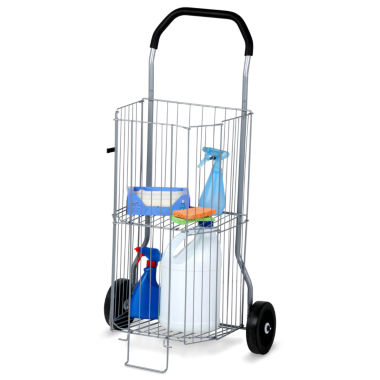 jcpenney.com | Honey-Can-Do® 2-Tier All-Purpose Rolling Utility Cart