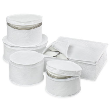 jcpenney.com | Honey-Can-Do® 5-Piece Dinnerware Storage Set