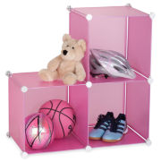 Honey-Can-Do® 3-Piece Modular Storage Cubes