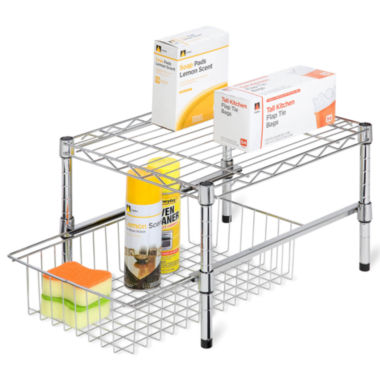 jcpenney.com | Honey-Can-Do® Adjustable Shelf + Under Cabinet Organizer