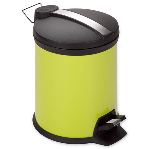 Honey-Can-Do® 5-Liter Round Step Trash Can