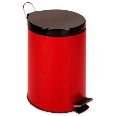 jcpenney.com | Honey-Can-Do® 12-Liter Red Step Trash Can