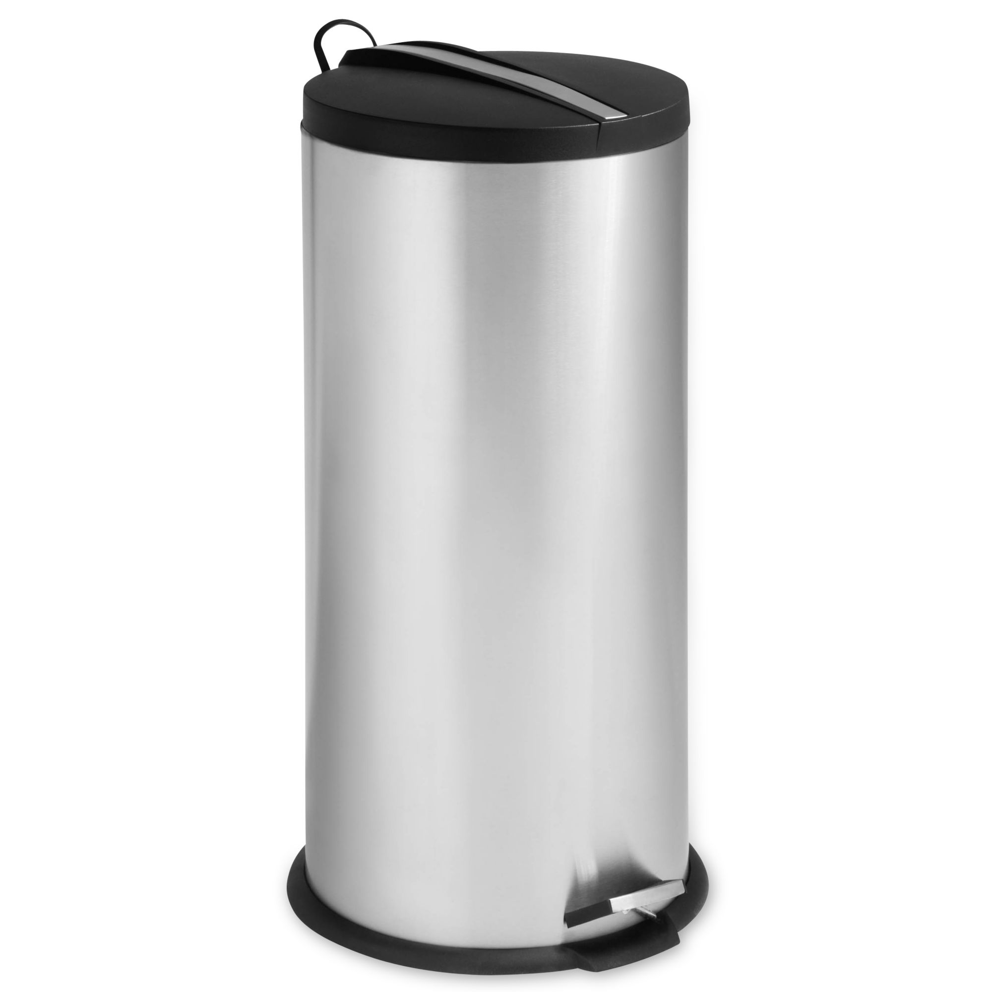 Honey Can Do  Liter Red Step Trash Can  Honey Can Do