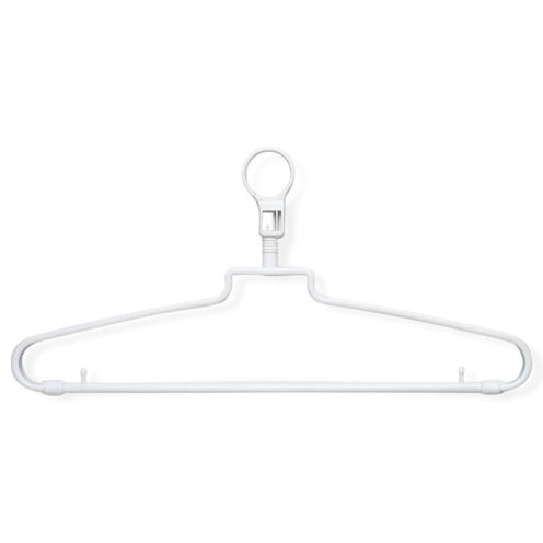 Honey-Can-Do® 72-Pack Hotel Hangers + Security Loop