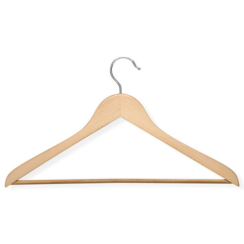 Honey-Can-Do® 10-Pack Wood Suit Hangers