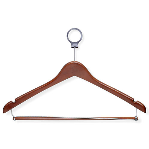 Honey-Can-Do® 24-Pack Hotel-Style Locking-Bar Suit Hangers