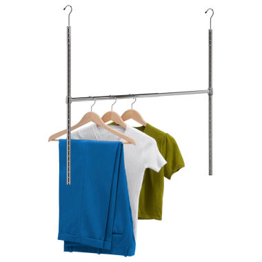 jcpenney.com | Honey-Can-Do® Chrome Adjustable Hanging Closet Rod