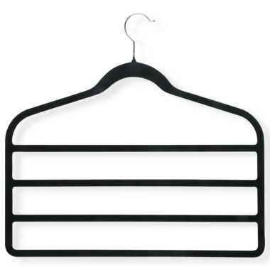 jcpenney.com | Honey-Can-Do® 4-Pack Velvet Touch 4-Tier Hangers