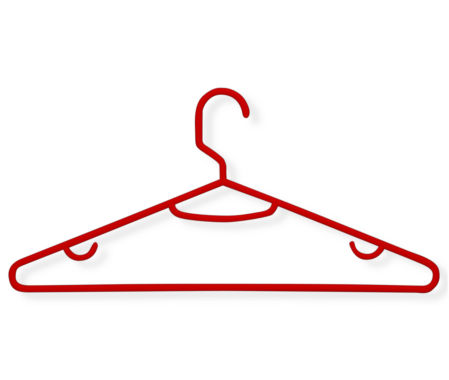 jcpenney.com | Honey-Can-Do® 60-Pack Red Recycled Plastic Hangers