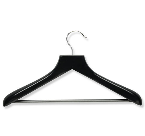 Honey-Can-Do® 2-Pack Curved Wood Suit Hangers