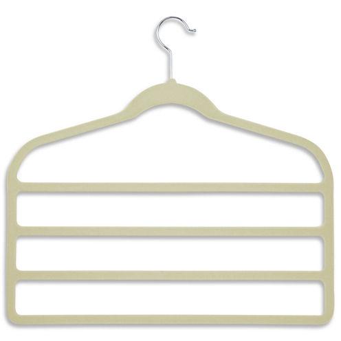 Honey-Can-Do® 10-Pack of 4-Tier Velvet Touch Pants Hangers