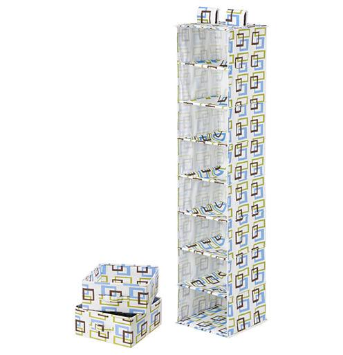 Honey-Can-Do® 8-Shelf Organizer + 2-Drawers