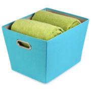 Honey-Can-Do® Medium Decorative Storage Bin + Handles