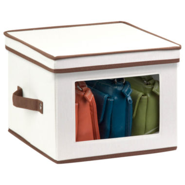 jcpenney.com | Honey-Can-Do® Natural Canvas Medium Window Storage Box