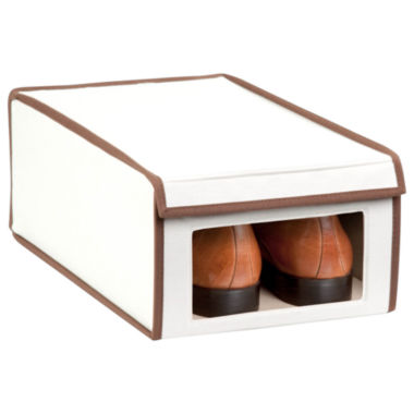 jcpenney.com | Honey-Can-Do® Natural Canvas Medium Window Shoe Box
