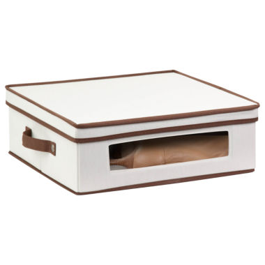 jcpenney.com | Honey-Can-Do® Natural Canvas Large Window Storage Box